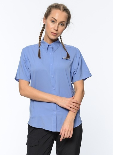 Kısa Kollu Gömlek-Columbia